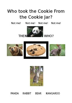 Who took the cookie from the cookie jar