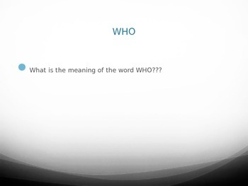 Who vs Whom Activity with Formative Assessment