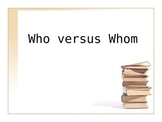 Who vs. Whom PowerPoint