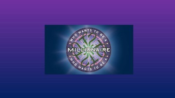 Who wants to be a Millionaire - An Inspector Calls