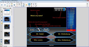 Who wants to be a Millionaire Responder quiz McGraw Hill Grade 4 Treasure