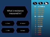 Who wants to be a millionaire - Electronics quiz