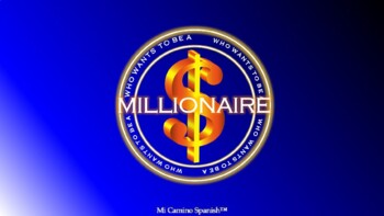 Who wants to be a millionaire? - FULLY CUSTOMIZABLE GAME TEMPLATE! (ENGLISH)