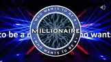 Who wants to be a millionaire powerpoint game DEMO SAMPLE