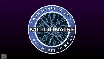 Who wants to be a millionaire powerpoint game show