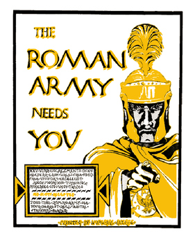 Who wants to join the Roman Army! Brochure