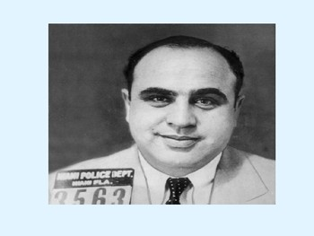 Who was Al Capone Starter Activity
