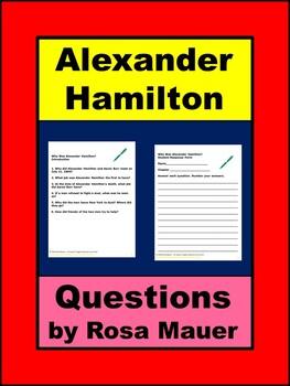 Who was Alexander Hamilton Biography Study