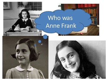 Who was Anne Frank Starter Activity