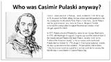 Who was Casimir Pulaski anyway?
