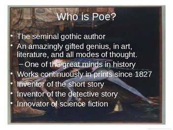 Who was Edgar Allan Poe? PowerPoint