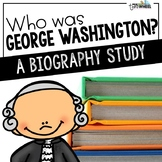 Who was George Washington? A Biography Trifold Unit