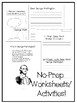 George Washington - No-prep worksheets, activities & craftivity