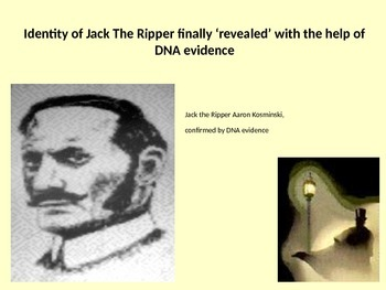Who was Jack the Ripper? Includes 25 question quiz