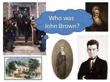 Who was John Brown Starter Activity