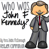 Who Was John F. Kennedy? by Yona Zeldis McDonough