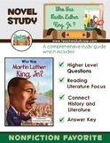 Who was Martin Luther King Jr.? {Black History Month Novel Study}