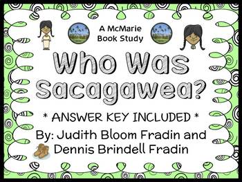 Who Was Sacagawea? (Fradin) Book Study / Reading Comprehension Unit