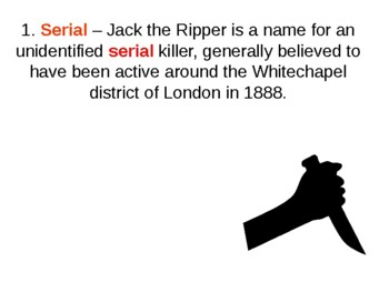 Who was Jack the Ripper Quiz