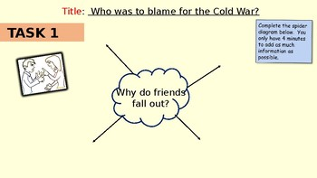 Who was to blame for the Cold War?