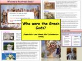 Who were the Greek Gods?