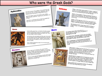 Who were the Greek Gods?