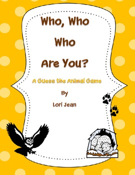 Who, who...Who are you?
