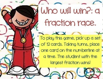 Who will Win? A Fraction Race