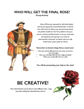 Who will get the final Rose? - Elizabeth and Henry