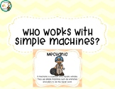 Who works with simple machines posters