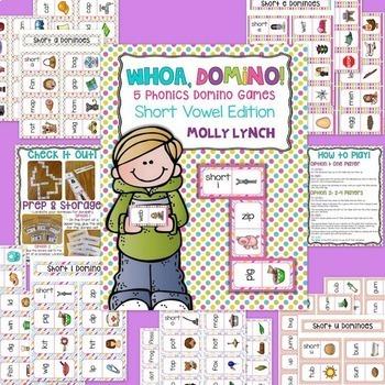 Phonics Domino Game Bundle