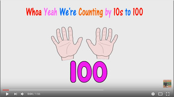 Whoa Yeah we're counting by 10s to 100