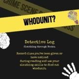 Whodunit Detective Log
