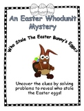 Whodunit Mystery - Who Stole the Bunny's Basket