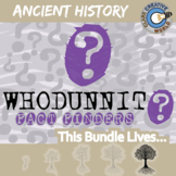 Whodunnit? ANCIENT HISTORY BUNDLE - Fact Finding - Distanc