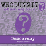 Whodunnit? - Ancient Greece - Democracy - Knowledge Building Class Activity