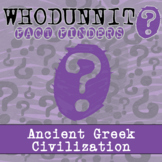 Whodunnit? - Impact - Ancient Greece - Knowledge Building