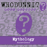 Whodunnit? - Ancient Greece - Mythology - Knowledge Building Class Activity