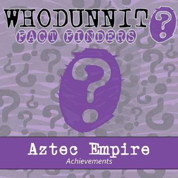 Whodunnit? - Aztec Empire - Achievements - Activity