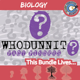 Whodunnit? -- BIOLOGY CURRICULUM BUNDLE - 26+ Fact Finding Activities