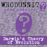 Whodunnit? - Darwin's Theory of Evolution - Distance Learn