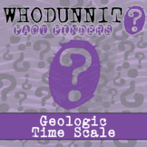 Whodunnit? - Geologic Time Scale - Knowledge Building Activity