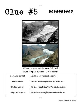 Whodunnit? - Global Warming Theory - Knowledge Building Activity