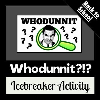 Whodunnit {Icebreaker Activity}