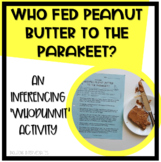 Whodunnit Inference Worksheet Mystery