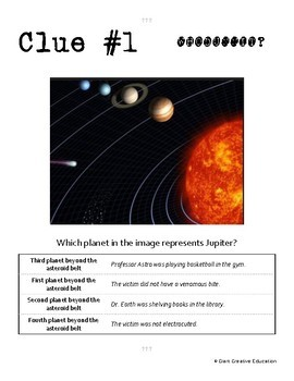 Whodunnit? - Jupiter - Knowledge Building Activity