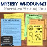 Narrative Writing: Mystery Story Unit