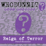 Whodunnit? - Reign of Terror - French Revolution - Distanc