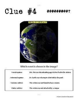 Whodunnit? - Seasons - Knowledge Building Activity