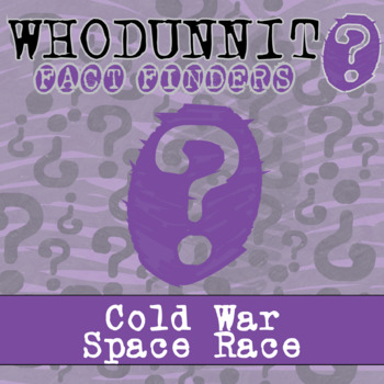 Whodunnit? - Space Race - Knowledge Building Activity